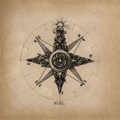 Compass http://tattooesque.com seriously considering a compass tattoo