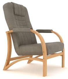 Křeslo Flavio P - přírodní buk Outdoor Chairs, Outdoor Furniture, Outdoor Decor, Armchair, Home Decor, Sofa Chair, Single Sofa, Decoration Home, Room Decor