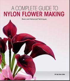 Handmade Nylon Stocking Flower Books from New Sheer Creations
