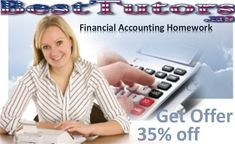 Financial Accounting Homework –Best Tutors offers amazing forensic accounting homework help to the students, helping the students to score great marks.