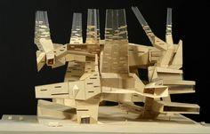 archimodels:  © carolyn yorke yerkes + prof. peter eisenman -...