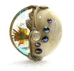 Lampwork Art Focal Bead by Jeanniesbeads 1050 by JEANNIESBEADS