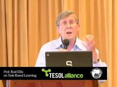 Prof. Ellis on task-based pedagogy: the what, why and how - YouTube