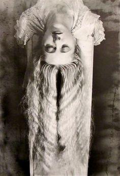 Man Ray, Femme Aux Longs Cheveux.
