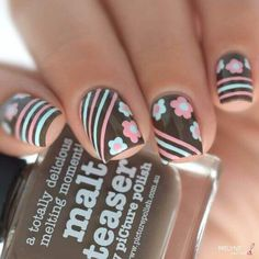 + DE 90 UÑAS DECORADAS CON CINTAS | Decoración de Uñas - Nail Art - Uñas decoradas