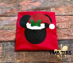 Santa Minnie Glitter | Disney Shirt | Christmas Minnie Mouse | Christmas | Santa | Disney Christmas | Santa Minnie | by PMBTees on Etsy https://www.etsy.com/listing/538777624/santa-minnie-glitter-disney-shirt