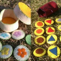 Toys For Girls, Gifts For Girls, Felt Gifts, Natural Toys, Kindergarten, Memory Games, Learning Colors, Matching Games, Felt Toys