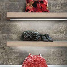 Marks Maori Lead Vintage Ματ Πλακάκι Δαπέδου Τύπου Ξύλου με Σχέδια 14χ84 - FloBaLi #bathroomtiles #woodtiles #tiles #tilestyle #tile #tiledesign #tilestyle Vintage, Design, Maori, Vintage Comics, Primitive