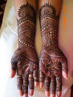 Get Amazing Collection of Full Hand Mehndi Design Ideas here. Henna Hand Designs, Mehndi Designs Finger, Latest Bridal Mehndi Designs, Full Hand Mehndi Designs, Mehndi Designs For Girls, Modern Mehndi Designs, Mehndi Design Photos, Wedding Mehndi Designs, Latest Mehndi Designs