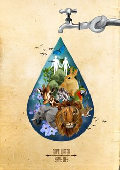 Save every drop Save Environment Poster Drawing, Environment Painting, Save Environment Posters, Save Water Poster Drawing, Poster Rangoli, Forest Drawing, Drawing Competition, Composition Art, Save Nature