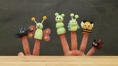 Tee hauskoja sorminukkeja. Näppärästä materiaalipakkauksesta löydät kaikki tarvikkeet sekä ohjeet tähän puuhaan. Model Magic, Silly Putty, Must Have Tools, Finger Puppets, Air Dry Clay, Ceramic Clay, Color Theory, Silk, Creative