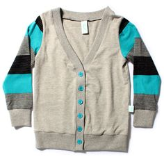 Love this cardi and the colors are very cute together!!