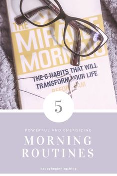 Since I started waking up at 5am, these 5 morning routines have made my days more powerful and full of happiness. Visit my blog to read more. #morningroutine #5amclub Morning Morning, Miracle Morning, Morning Habits, Morning Routines, 5am Club, Morning Motivation, How To Wake Up Early, Growth Mindset, Self Improvement