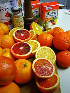 Blutorangen-Gelee