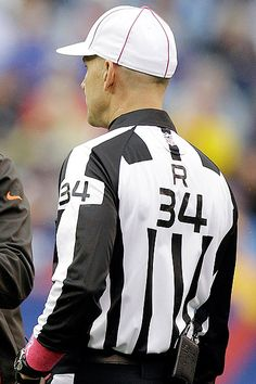 NFL Football referee uniform