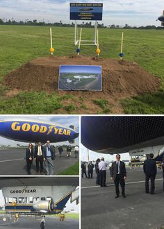 New Blimp. New Base. New Era. Ware Malcomb Irvine team members attended the Goodyear Airship Operations base groundbreaking in Carson, CA! Once complete, the hangar will be the largest stressed-skin inflatable structure in the world. WM Irvine is providing architecture & civil engineering design services for the operations base.