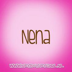 Nena  (Voor meer inspiratie, en unieke geboortekaartjes kijk op www.heyboyheygirl.nl)