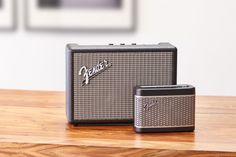 Fender has made its foray into the world of Bluetooth speakers with two products that are styled after its iconic guitar amps. The Newport and Monterey retail for $199 and $349 respectively.