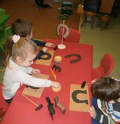 Farm Party, Le Far West, Indoor Activities, Martini, Montessori, Preschool, Candles, Christmas, Animaux