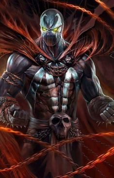 Want to discover art related to spawn? Check out inspiring examples of spawn artwork on DeviantArt, and get inspired by our community of talented artists. Comic Book Characters, Comic Book Heroes, Comic Character, Comic Books Art, Comic Art, Spawn Comics, Marvel Dc Comics, Anime Comics, Marvel Heroes