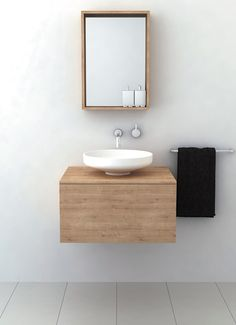 Vanity unit- Floating with basin Omvivo Venice 750 Timber Vanity Unit Bathroom Renovation Cost, Bathroom Plans, Bathroom Ideas, Bathroom Inspo, Bathroom Designs, Bathroom Storage, Furniture Vanity, Bathroom Furniture, Wall Mounted Taps
