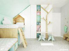 Sypialnia dziewczynek - zdjęcie od SPOIWO studio - Pokój dziecka - Styl Skandynawski - SPOIWO studio