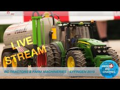 Rc Tractors, Rc Trucks, Channel, Live, Commercial Vehicle, Scale Model
