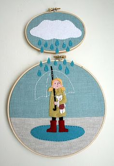 Multi hoop embroidery. Yes Please.