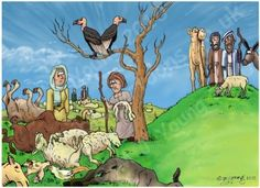 free bible images of moses and the plague of dead animals - Google Search