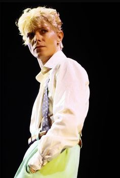 Bowie 1983 - it was right around this time that I first set eyes on him, and even though I was very young, I knew then that he was the embodiment of cool.