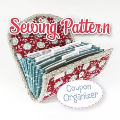 Coupon / Expense Organizer (have to purchase pattern, unless found elsewhere)  2, one in greens and other in bright colors (aqua, green, orange, etc)