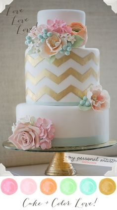 the color scheme: perfect for a may wedding (wink wink)