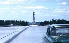 Mackinac Bridge approach