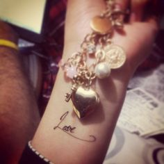 Love ♥ #Love #Tattoo #Husband #forever #Together #you