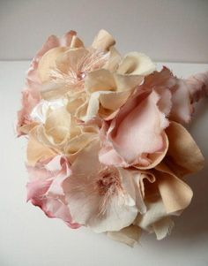 Ramos de Novia Con Flores Artesanales