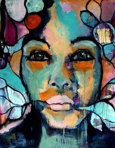 flowergirl 01- Yvon van Bergen
