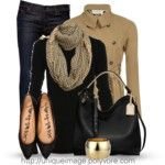 Light Brown boots - Polyvore