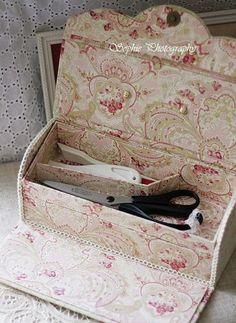 Classique Pastel double box de main de couture de tissu - Bonjour Ca va La vie est belle -? Yahoo! Blogs