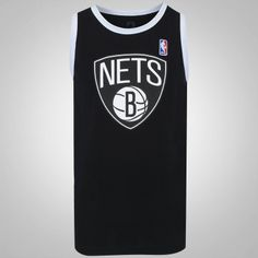 Camiseta Regata NBA Brooklyn Nets 17 First - Masculina