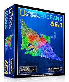 Loving this Oceans Light-Up Building Set
