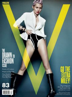 Behind the Scenes of Miley Cyrus' Racy Photoshoot for V Magazine