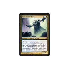 Magic: the Gathering - Duskmantle Seer (159) - Gatecrash Magic: the Gathering http://www.amazon.com/dp/B00B20QVB4/ref=cm_sw_r_pi_dp_2pvFub0949JQT