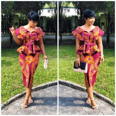 Greetings! Today, we will share the most eye-catching, cute charming 40+ latest new Ankara short gown styles 2018 with you.