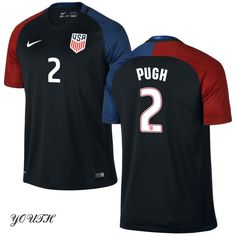 2016 Mallory Pugh Youth Away Jersey #2 USA Soccer
