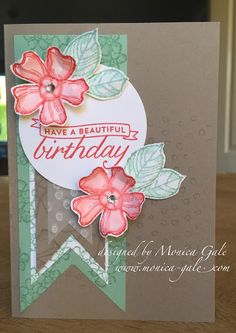 STAMPIN'UP! UK- Top UK Demonstrator Monica Gale-01405 862902-DN14 9QZ: You Can Create It UK