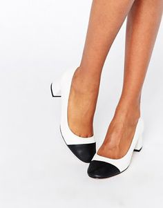 Asos Short Formal Zapatos Chunky De Shoes Modelos Tacon Heels Bajo q4Uz4fw