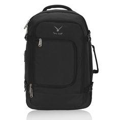 fcab5eda368 Hynes Eagle 40L Flight Approved Carry on Backpack Black Large Luggage, Travel  Luggage, Luggage