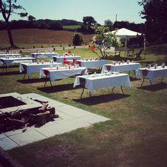 Summer's day wedding