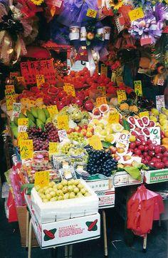 Hong Kong I miss shopping for my food at the fresh markets.