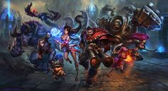 ArtStation - League of Legends wallpaper for season 4, Suke ∷
